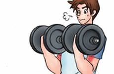 腕の筋力トレーニング