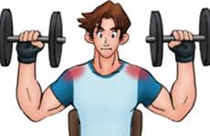 肩の筋力トレーニング