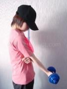 筋トレ:腕の前側(力こぶ)