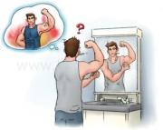 なぜ、朝は筋肉がしぼんで見えるのか?