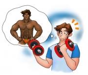 筋肉を太くせずに筋力を付けるには?