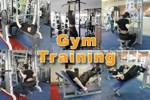 ジムでの筋力トレーニング